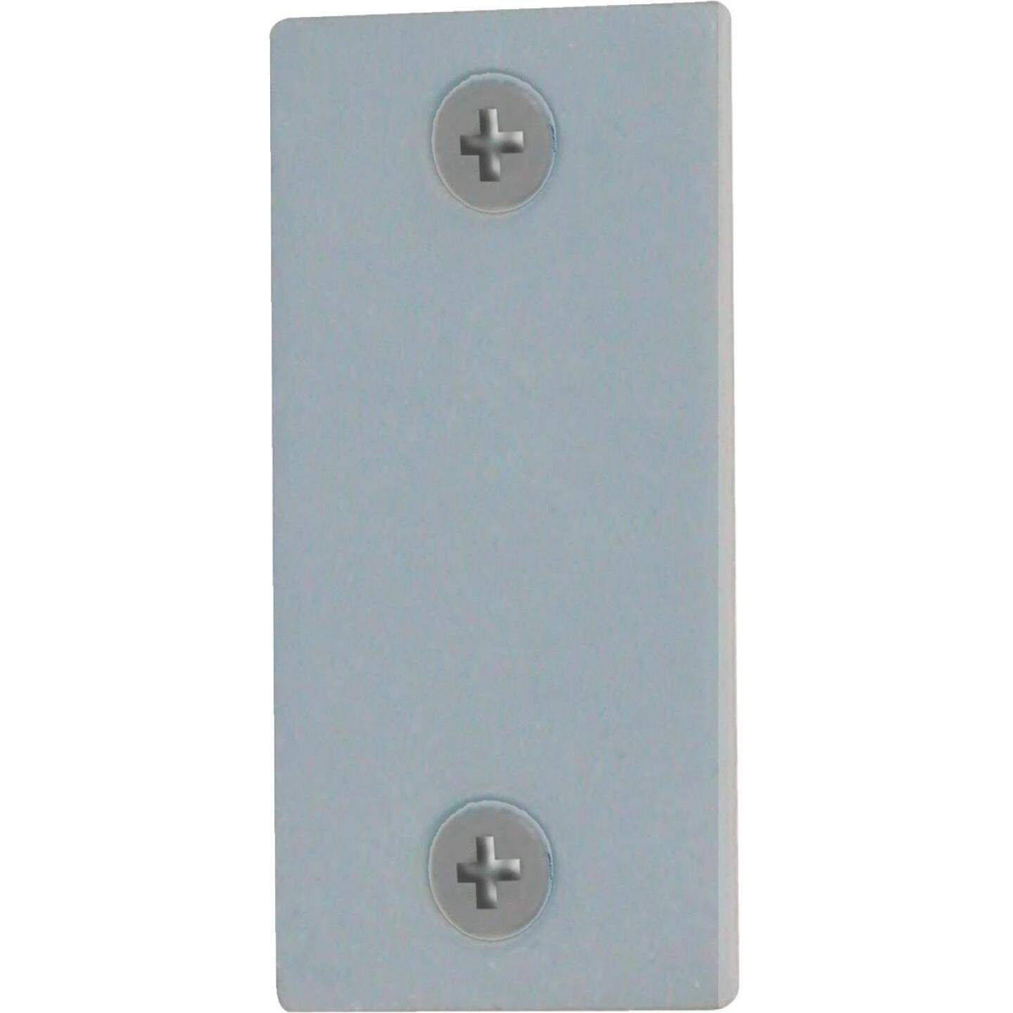 Defender Security 1-1/8 In. x 2-1/4 In. Latch Bolt Filler Plate Image 1