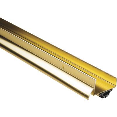 M-D 2-1/2 In. x 36 In. Brite Gold Aluminum Drip Cap & Door Bottom
