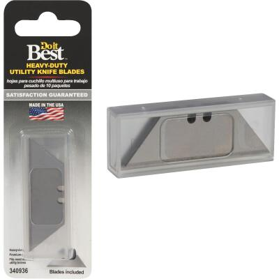 Do it Best 2-Point Heavy-Duty 2-3/8 In. Utility Knife Blade (10-Pack)