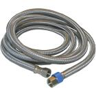 Lasco 3/8 In.C x 3/8 In.C x 96 In.L Braided Stainless Steel Flex Line Appliance Water Connector Image 1