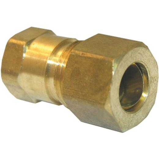 Lasco 3/8 In. C x 1/8 In. FPT Brass Compression Adapter