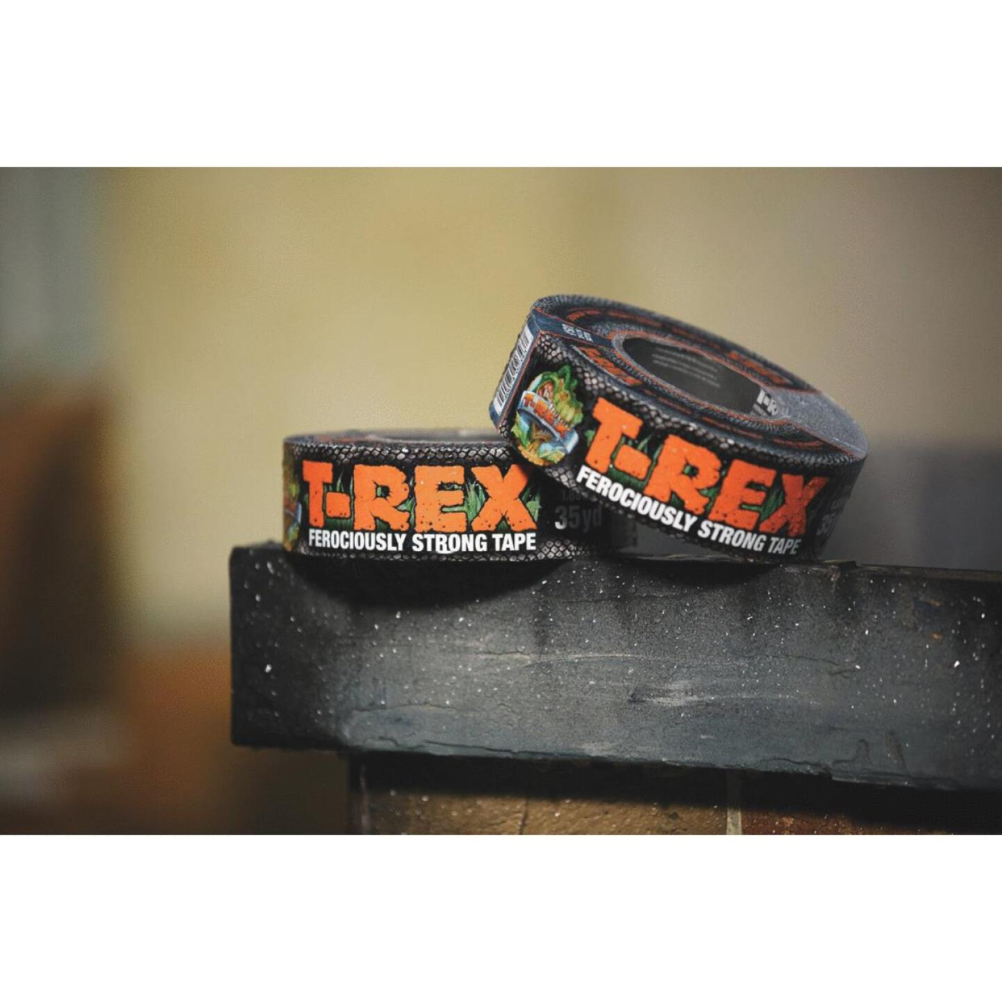 T-REX 1.88 In. x 12 Yd. Duct Tape, Gray Image 2