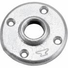 Anvil 2 In. Malleable Iron Galvanized Floor Flange Image 1