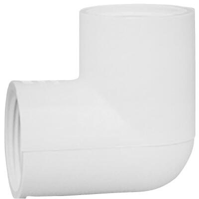 Charlotte Pipe 3/4 In. FIP x FIP Schedule 40 Threaded PVC Elbow