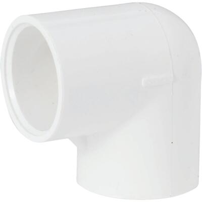 Charlotte Pipe 1 In. Slip x Slip Schedule 40 Standard Weight PVC Elbow