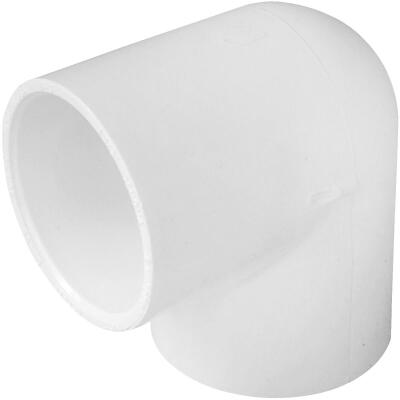 Charlotte Pipe 1-1/2 In. Slip x Slip Schedule 40 Standard Weight PVC Elbow