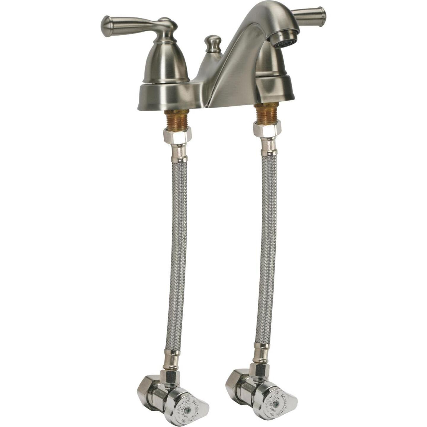 Fluidmaster 3/8 F X 1/2 In. F X 16 In. L Stainless Steel Faucet Connector Image 3