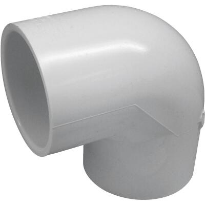 Charlotte Pipe 2-1/2 In. Schedule 40 Standard Weight PVC Elbow