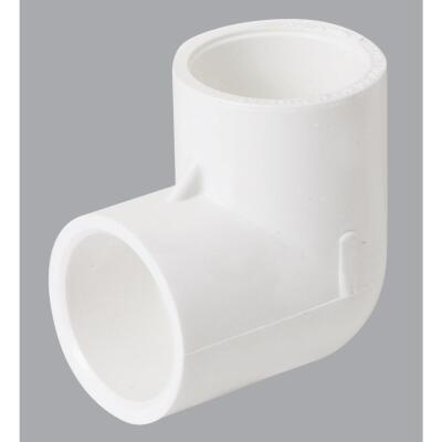 Charlotte Pipe 3/4 In. Schedule 40 Standard Weight PVC Elbow (10-Pack)