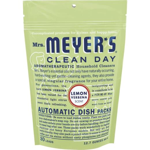 Mrs. Meyer's Lemon Dishwasher Detergent Tabs, 20 Ct.