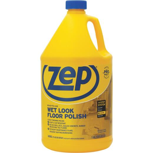 Zep 1 Gal. Wet Look Vinyl Floor Polish
