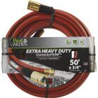 Best Garden 3/4 In. Dia. x 50 Ft. L. Drinking Water Safe Contractor Hose Image 1