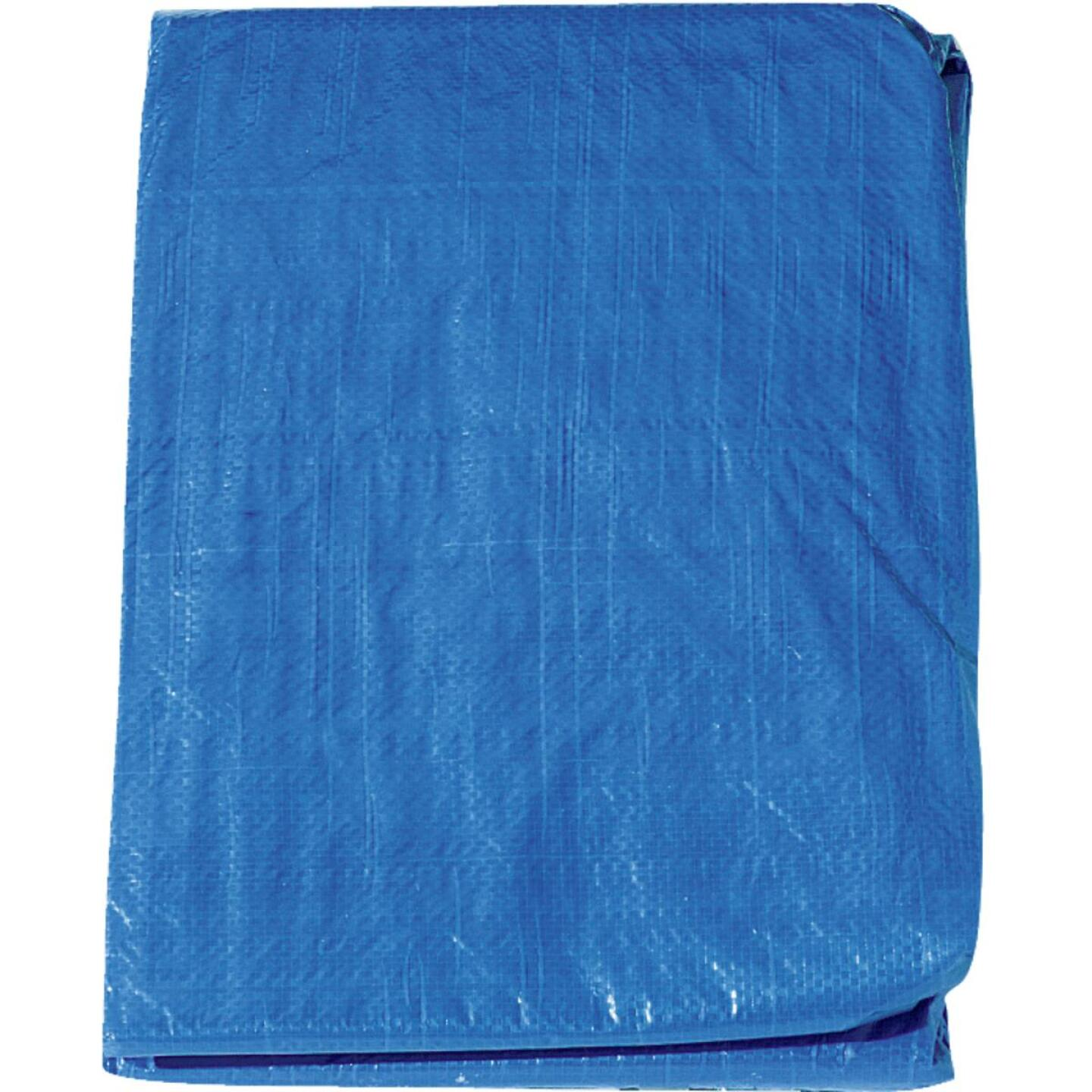 Do it Blue Woven 10 Ft. x 20 Ft. Medium Duty Poly Tarp Image 2