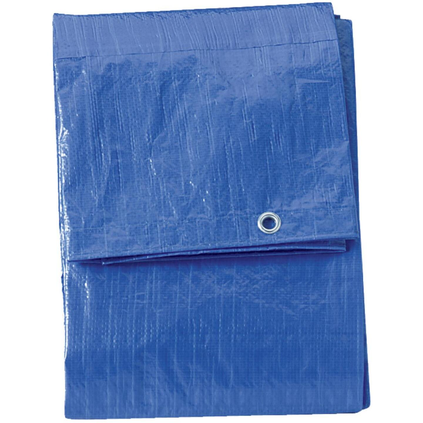 Do it Blue Woven 5 Ft. x 7 Ft. Medium Duty Poly Tarp Image 3