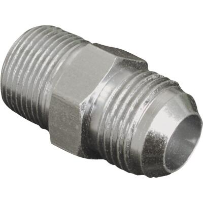 Apache 3/8 In. Male JIC x 1/2 In. Male Pipe Straight Hydraulic Hose Adapter