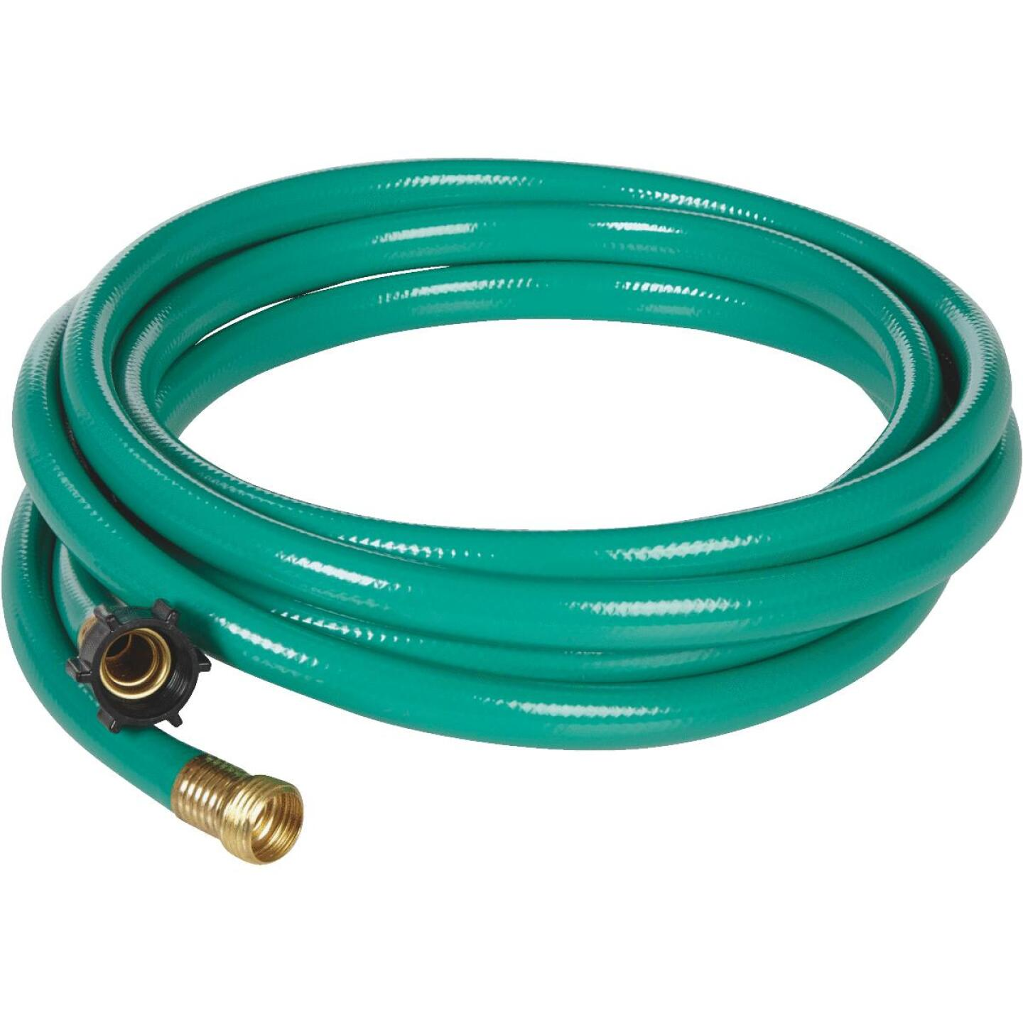 Best Garden 5/8 In. Dia. x 15 Ft. L. Leader Hose with Male & Female Couplings Image 2