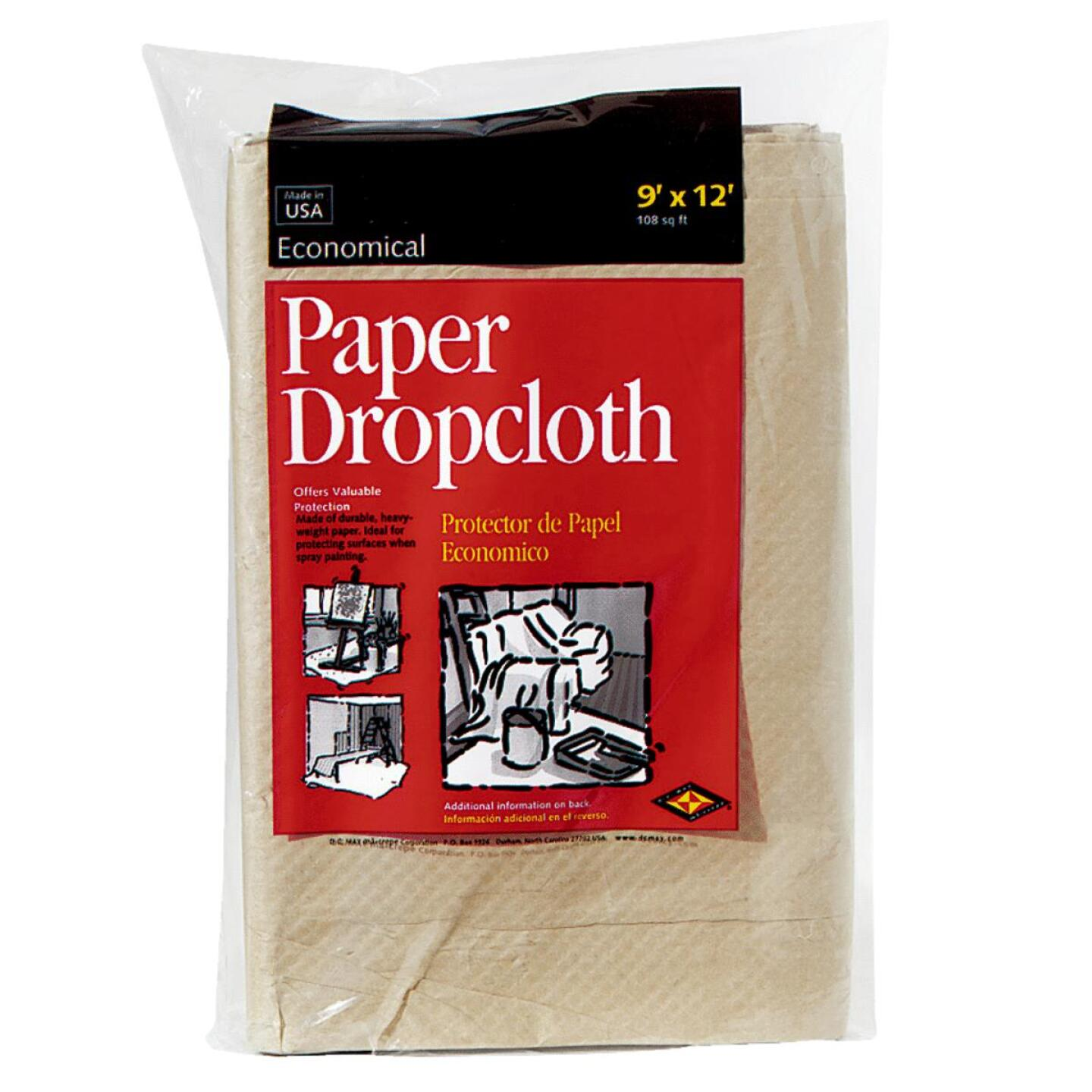 Trimaco EcoDrop Paper 9 Ft. x 12 Ft. All-Purpose Drop Cloth Image 1
