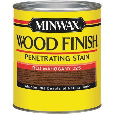 Minwax Wood Finish Penetrating Stain, Red Mahogany, 1 Qt.