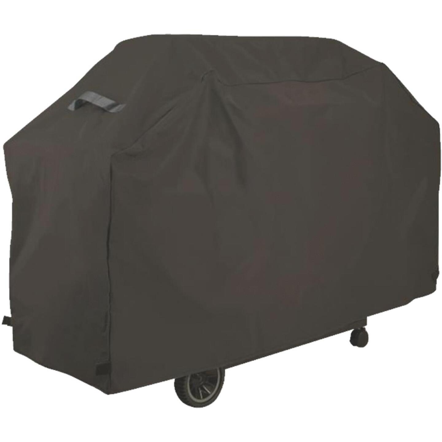 GrillPro Premium 73 In. Gray Vinyl Grill Cover Image 1